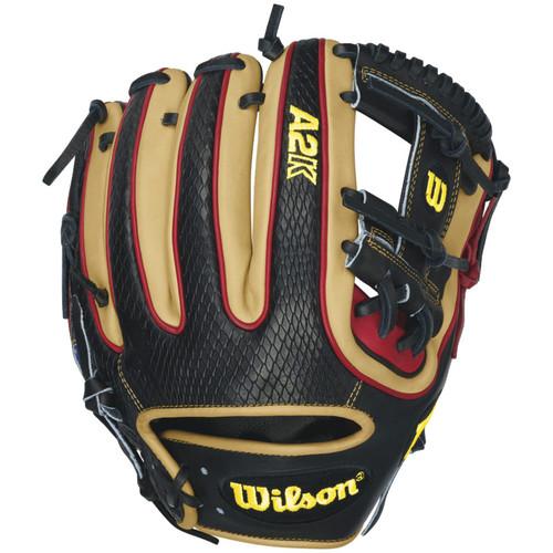 Wilson A2K DTDUDE Fielding Glove 11.5 Right Handed Throw A2KRB16DTDUDE Baseball Glove