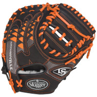 Louisville Slugger FGHDOR5 HD9 Orange Catchers Mitt Right Hand Throw
