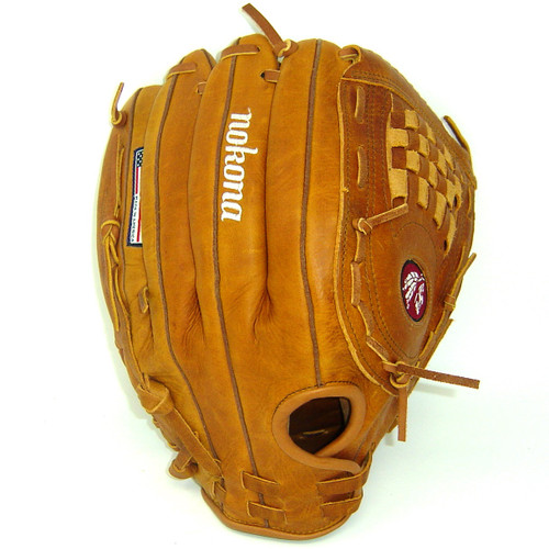 Nokona Generation G-1350C Slowpitch Softball Glove 13.5 inch Right Hand Throw