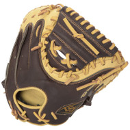 Louisville Slugger Omaha Select Brown Catchers Mitt Right Hand Throw