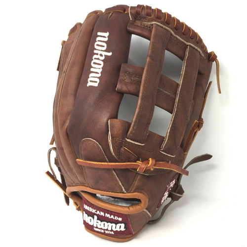 Nokona Walnut 12.75 Baseball Glove WB-1275H Right Hand Throw H Web