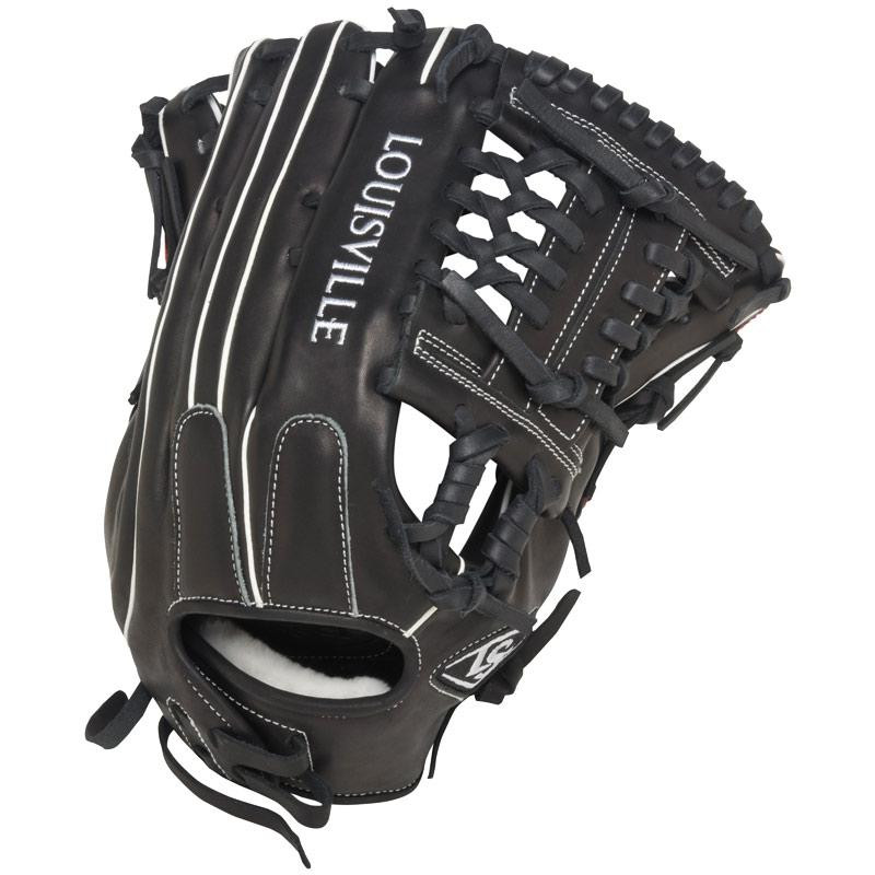 0ffbf5fad21 Louisville Slugger FGSZBK5 Super Z Black Fielding Glove 14-Inch Left Hand  Throw - Ballgloves