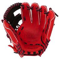 Mizuno 11.5 inch MVP Prime SE3 Baseball Glove GMVP1154PSE3 (Red-Black, Right Hand Throw)