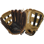 Nokona Select Plus S-V1250H Softball Glove Fastpitch 12.5 Right Hand Throw