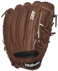 Wilson 2016 A2K B212 Pitcher Baseball Glove Walnut White Logos