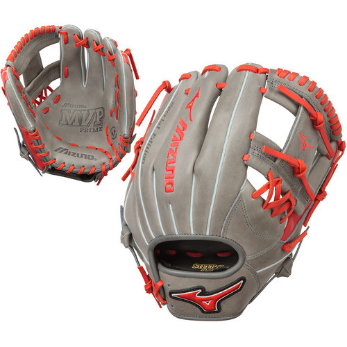 a48beab193f Mizuno MVP Prime SE 11.5 Inch GMVP1154PSE5 Baseball Glove Smoke Red Right  Hand Throw