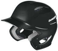DeMarini Paradox Protege Pro Batting Helmet Black Youth 6.5 and Below