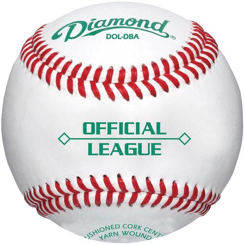 Diamond DOL-DBA Official League Baseballs 1 Dozen