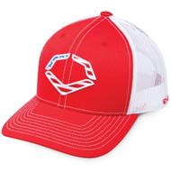 1b08cdd9 Wilson Sporting Goods Unisex EvoShield Steed Stripe Mesh Flexfit Hat ...
