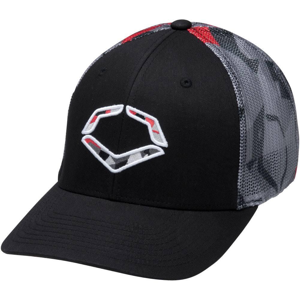hot sale online b11f6 081a2 Evoshield Shrapnel Flex-Fit Trucker Cap Hat Large X-Large - Ballgloves