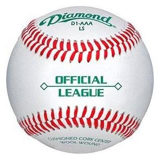 Diamond Semi-Pro & League Low Seam Baseballs 1 Doz