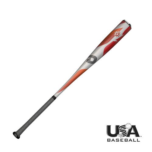 DeMarini 2018 Voodoo One -10 2 5/8 Balanced USA Baseball Bat 29 inch 19 oz