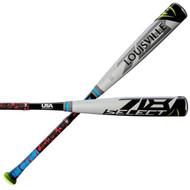 Louisville Slugger Select 718 USA -5 WTLUBS718B5 Youth Baseball Bat 30 Inch 25 Oz