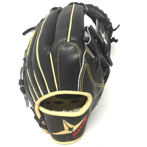 All-Star FGS7-IFBK Infield Baseball Glove Black 11.5 Right Hand Throw