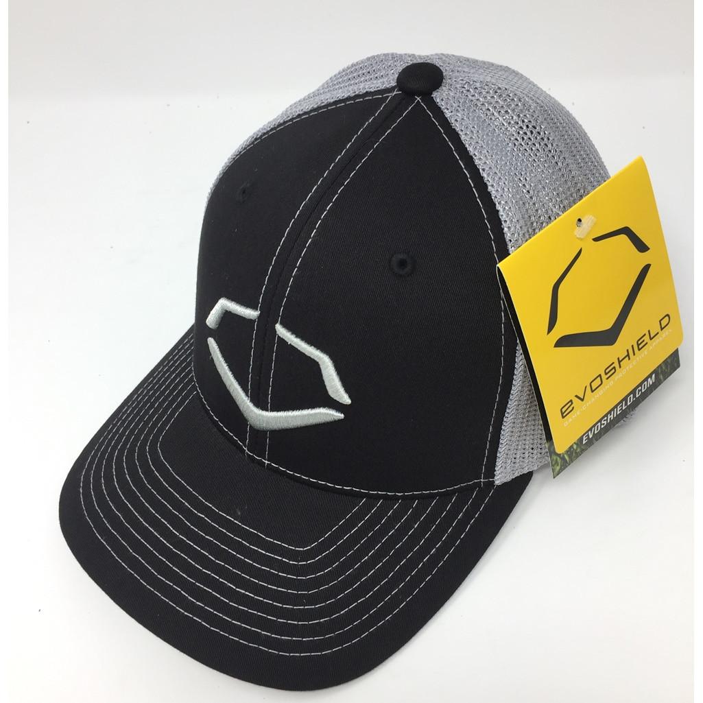 6d557cb539db1 ... shop wilson sporting goods unisex evoshield steed stripe mesh flexfit  hat large xl ballgloves 67dac e2a4c