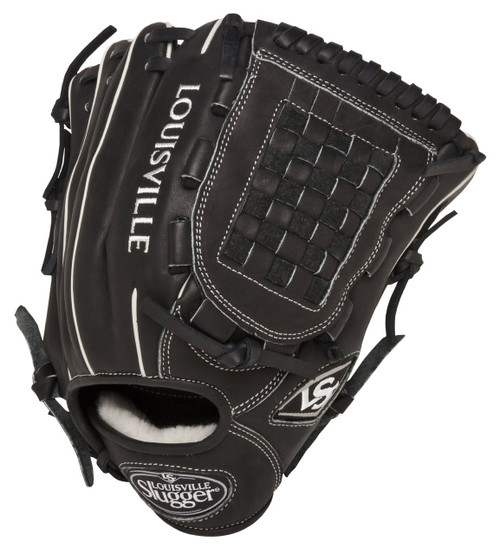Louisville Slugger Pro Flare Black 12 inch Baseball Glove (Right Handed Throw)