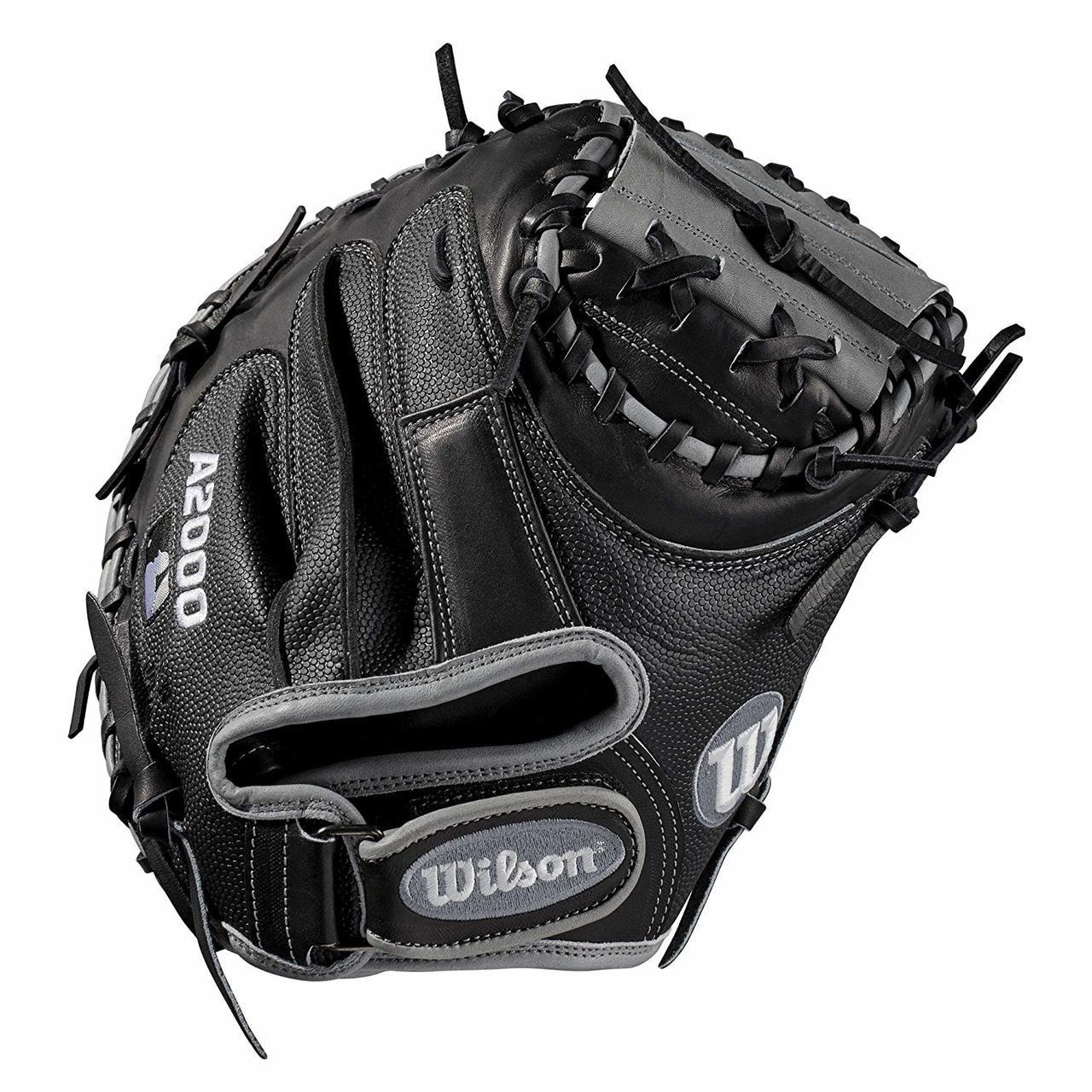 30e2f664371 Wilson A2000 1790SS Catchers Mitt 2019 Right Hand Throw 34 - Ballgloves