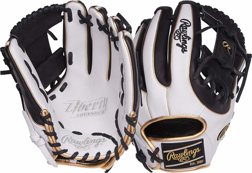 Rawlings Liberty Advanced RLA315SB-2WBG Fastpitch Softball Glove 11.75 Right Hand Throw