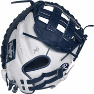 Rawlings Liberty Advanced 33 RLACM33FPWN Fastpitch Softball Catchers Mitt Right Hand Throw