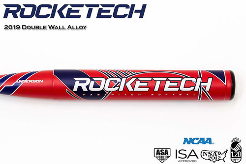 Anderson 2019 Rocketech -9 Fastpitch Softball Bat 32 inch 23 oz