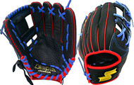 SSK JB9 Javier Baez Black Blue Red Youth Baseball Glove 11.5 Right Hand Throw