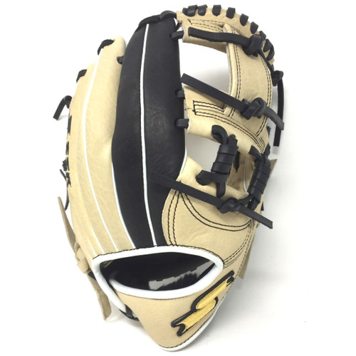 SSK JB9 Javier Baez Tan Black Youth Baseball Glove 11.5 Right Hand Throw