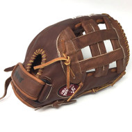 Nokona Walnut Softball Glove W-V1250H H Web Right Hand Throw
