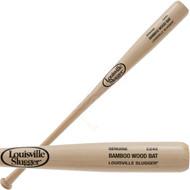 Louisville Slugger Bamboo Wood Baseball Bat BC243 Bamboo 33 inch