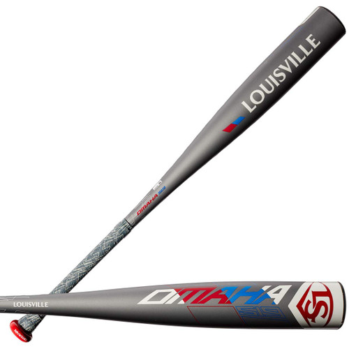 Louisville Slugger 2019 Omaha 519 -5 2 5/8 Senior League Baseball Bat 30 inch 25 oz