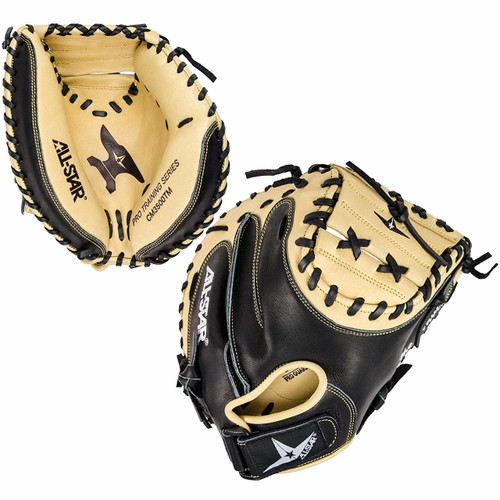 All-Star Anvil CM3500TM Adult Baseball Weighted Training Catchers Mitt Right Hand Throw