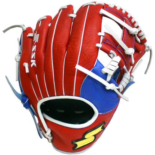 SSK JB9 11.25 Highlight Pro Baseball Glove Red I Web Right Hand Throw