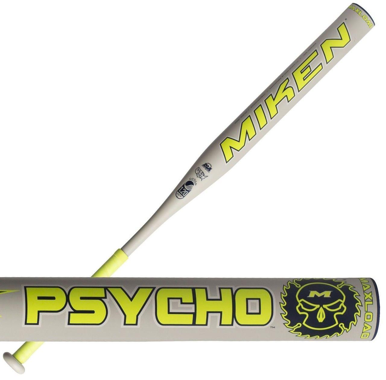 Miken Psycho Max USSSA Slowpitch Softball Bat MPSYCO 34 inch 26 oz