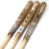 Louisville Slugger Wood Baseball Bat Pack 33 inch (3 Bats) MLB Ash