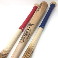 Louisville Slugger Wood Baseball Bat Pack 33 inch (3 Bats) MLB Auth Ash