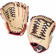 All-Star Pro Elite 11.75 Baseball Glove Cream Black Scarlet Right Hand Throw