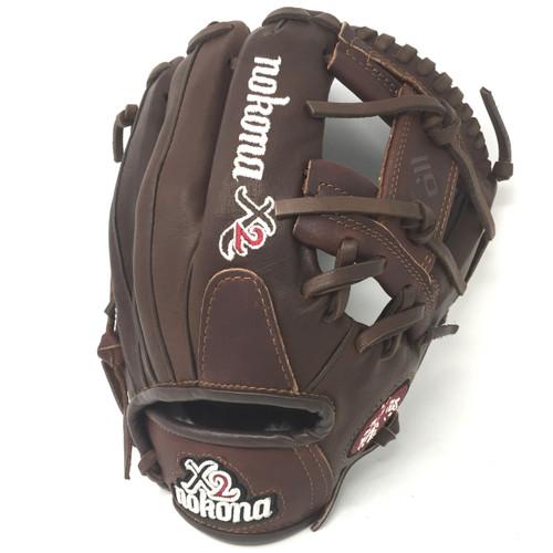 Nokona X2 Elite 11.5 Baseball Glove I Web Right Hand Throw