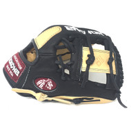 Nokona Bison Black Alpha Baseball Glove S-200IB 11.25 inch Right Hand Throw