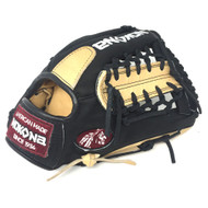 Nokona Bison Black Alpha Baseball Glove S-200MB 11.25 inch Right Hand Throw