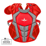 Copy of All-Star S7 Axis Chest Protector 12-16 - 15.5 Red Grey NOCSAE