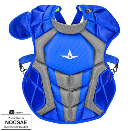 Copy of All-Star S7 Axis Chest Protector 12-16 - 15.5 Royal Grey NOCSAE