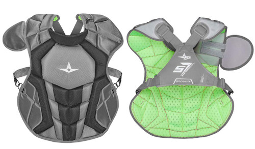 Copy of Copy of All-Star S7 Axis Chest Protector 12-16 - 15.5 Graphite Grey NOCSAE