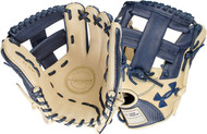 Under Armour Genuine Pro 11.75 Single Post Web Baseball Navy Glove Right Hand Throw