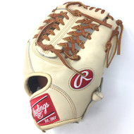 Rawlings Heart of the Hide PRO2174 Camel 11.5 Modified Trap Right Hand Throw