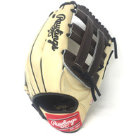 Rawlings Heart of the Hide PRO303 Camel Black Baseball Glove 12.75 Right Hand Throw