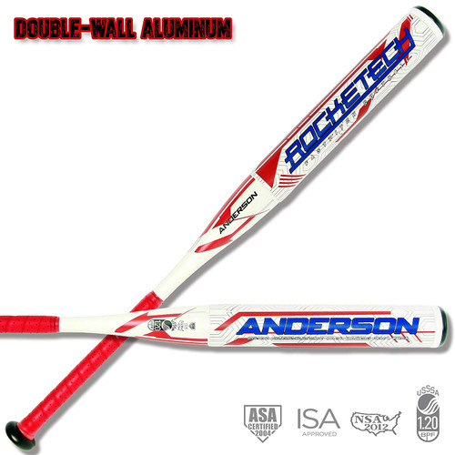 Anderson Rocketech -9 Double-Wall Fastpitch Softball Bat 32 inch 23 oz