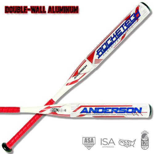 Anderson Rocketech -9 Double-Wall Fastpitch Softball Bat 34 inch 25 oz