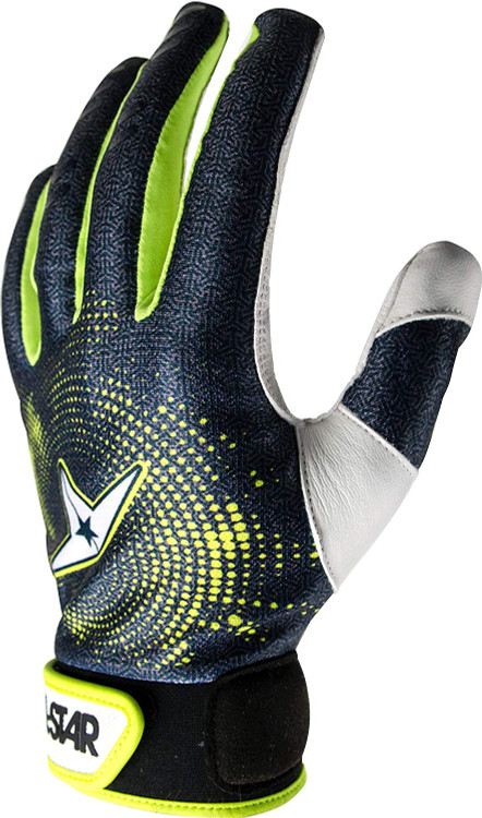 All-Star Adult Full Palm Baseball Catchers Inner Protective Glove Adult Medium