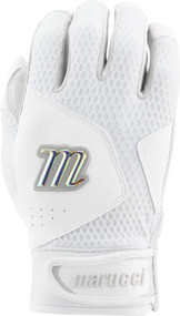 Marucci Quest 2.0 Adult Large Batting Gloves White