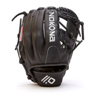 Nokona Black AmericanKip 14U Baseball Glove 11.25 Right Hand Throw