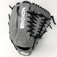Nokona American KIP Gray with Black Laces 11.5 Baseball Glove Mod Trap Web Right Hand Throw